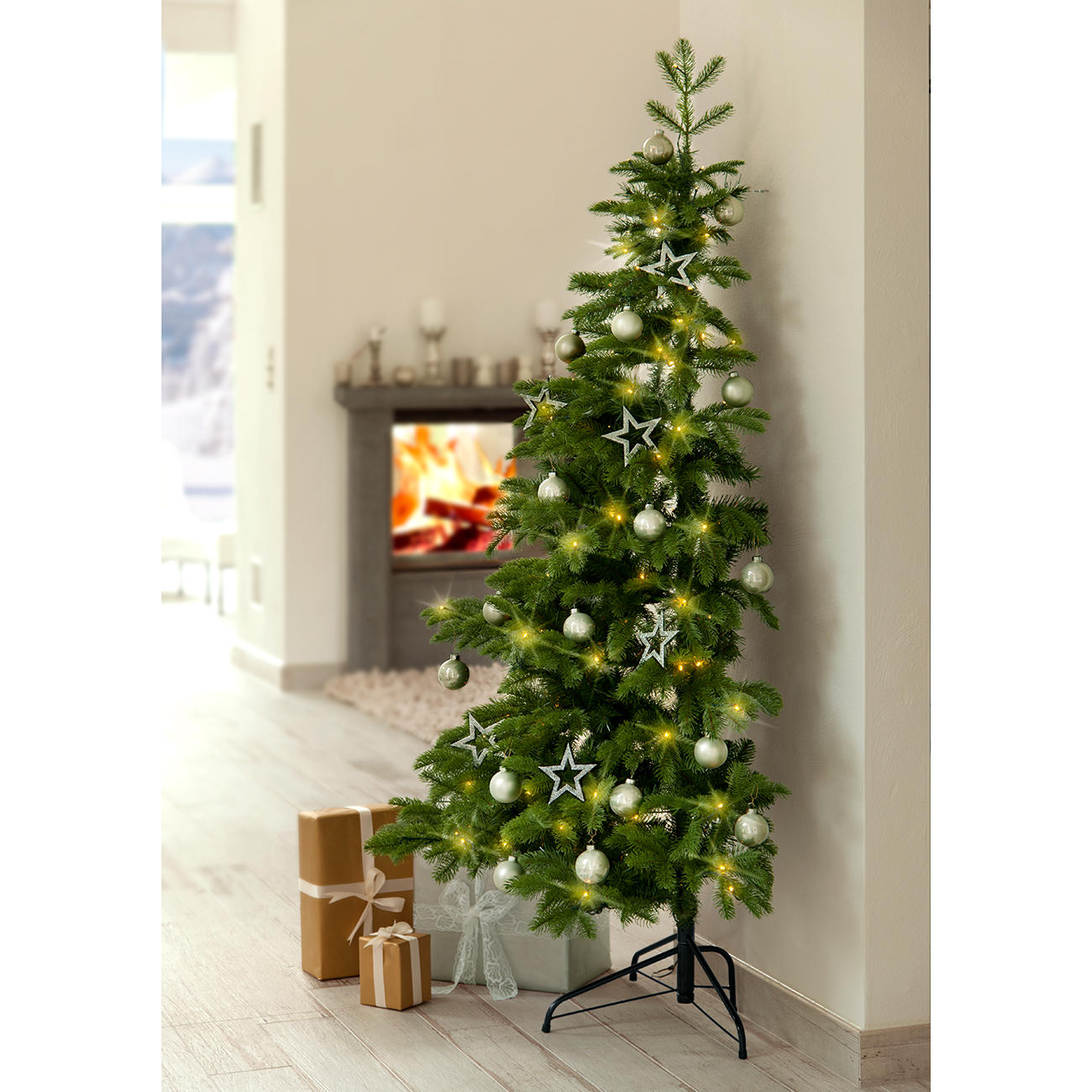 halve kerstboom 3 jaar productgarantie pro idee. Black Bedroom Furniture Sets. Home Design Ideas