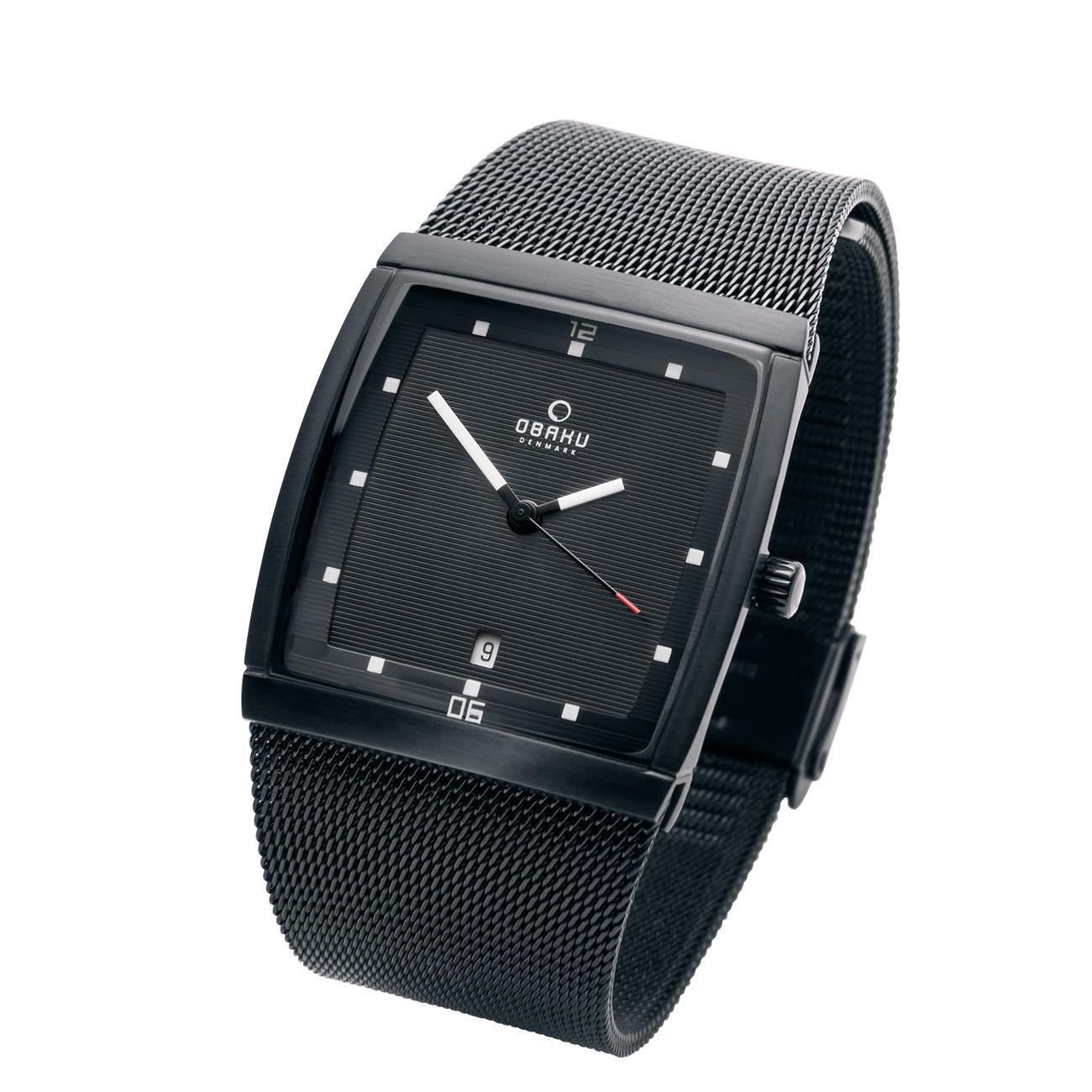 Obaku Vierkant Horloge 3 Jaar Productgarantie Pro Idee