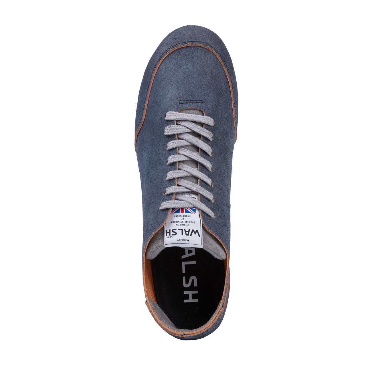 Chaussures De Sport En Cuir Norman Walsh Pieds Nus, 41 - Gris / Bleu