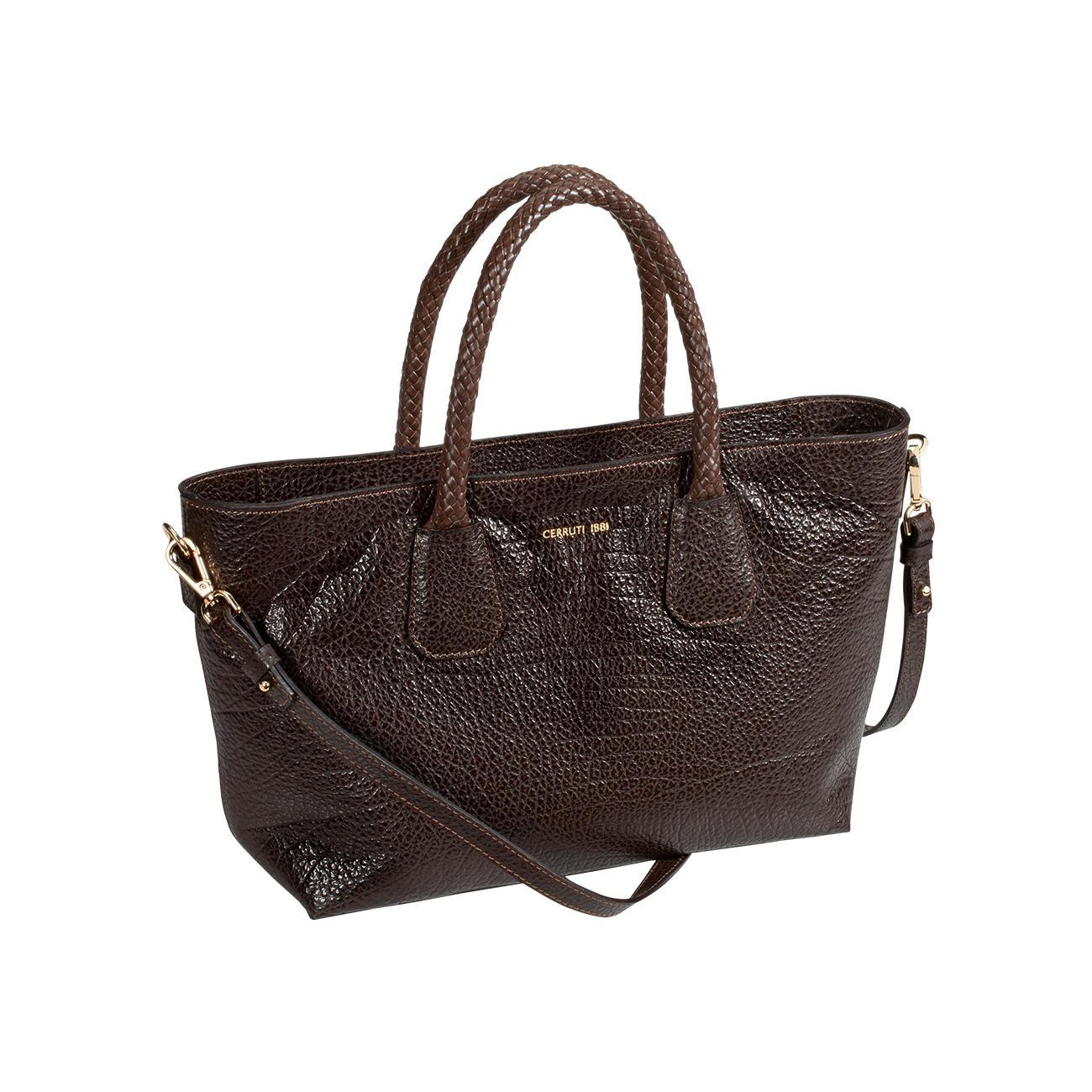 2c3bf6bf981 Cerruti 1881 tas van kalfsleer - Mooier dan veel andere trendy tassen:  designertas voor (