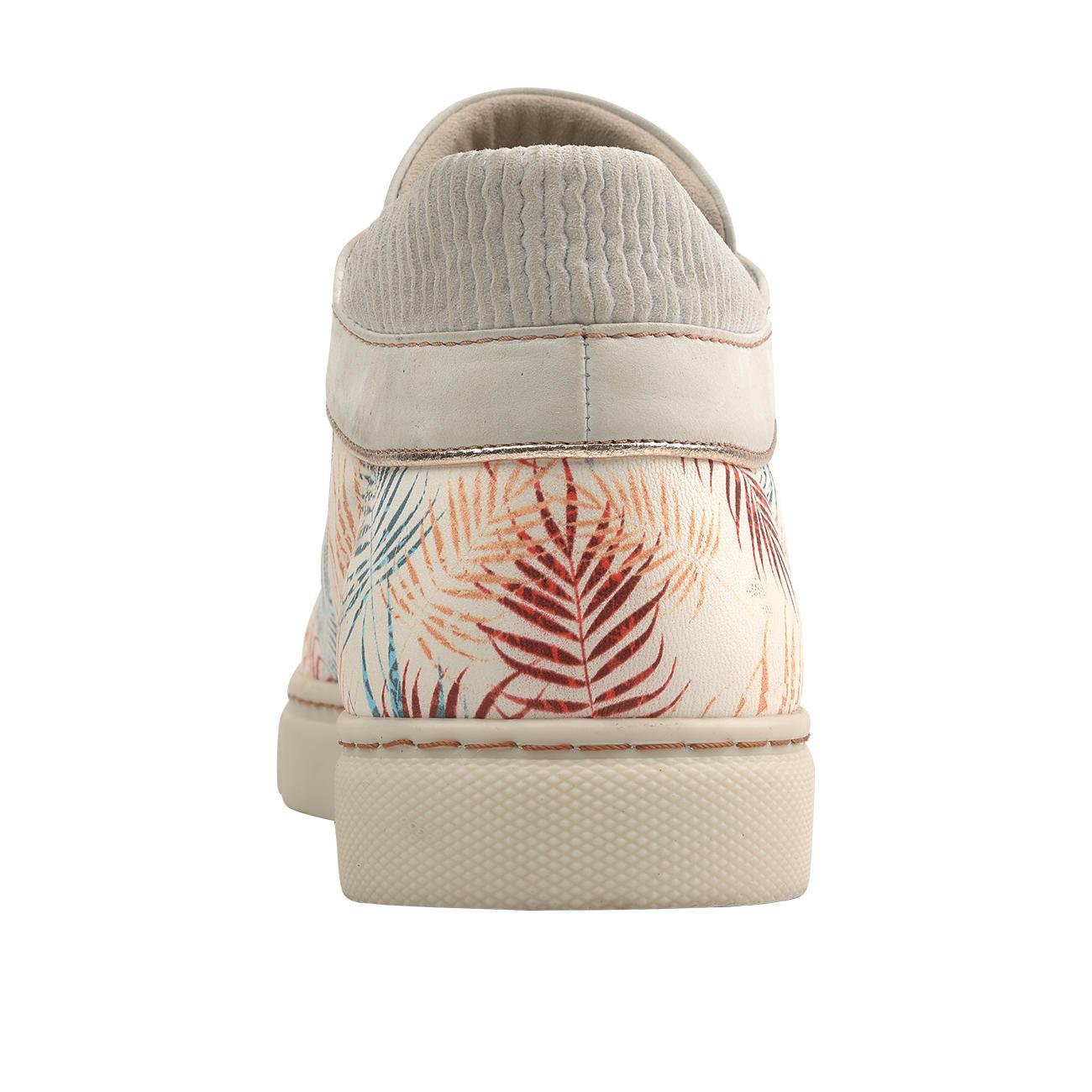 Chaaya leren sneakers met palmprint entdecken
