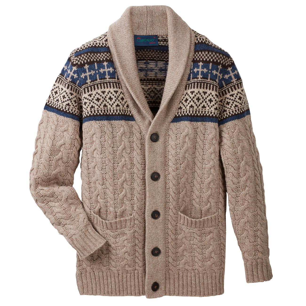 Wonderbaarlijk Carbery vest met sjaalkraag | Klassiker entdecken FI-96