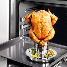 Haantjesgrill met aroma-opzetstuk - Nu met aroma-opzetstuk. Zo lukt uw knapperige gevogelte nog malser & aromatischer.