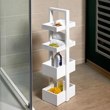wireworks designopbergrek - Bijzettafeltje. Presenteerblad met meerdere niveaus. Of handige etagère met veel bergruimte.