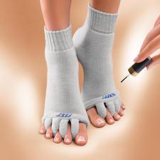 Wellness-sokken 'Happy Feet' - Ontspanning voor door pumps gekwelde voeten. VS-gepatenteerde ontspanningssokken voor uw tenen.