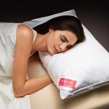 Hefel koeltekussen - Diepe, verfrissende slaap in hete nachten. Voert warmte van hoofd, gezicht & nek weg.