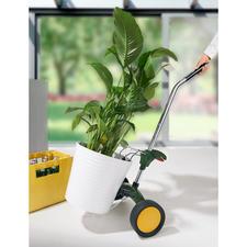 Transportwagen voor plantenbakken - Gemakkelijk rollen in plaats van moeizaam slepen.
