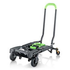 Inklapbare 2-in-1 transportkar - Dubbel handig: transportkar en trolley in één.