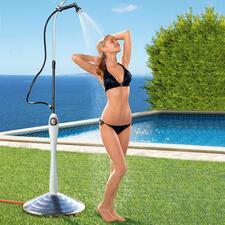 Zonnedouche Sunny Premium - In plaats van een koude douche krijgt u aangenaam warm water – dankzij de kracht van de zon.