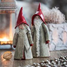Zweedse kerstkabouter - Zweedse kabouters zorgen voor een echte kerstsfeer in huis.