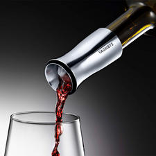 Wijndecanteertuit Vagnbys - Met druppelvrije 360°-schenktuit, filterzeef en luchtdichte stop.
