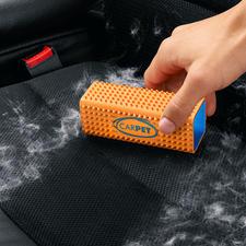 Dierenhaar-verwijderaar CarPet™ - Geen huisdierhaar ontkomt aan de dicht op elkaar geplaatste rubbernoppen.