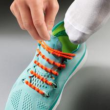 Xtenex vetersysteem - Zonder strikken schoenen aan- en uittrekken. Met succes getest in de professionele sportwereld.