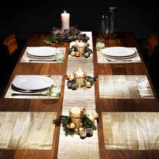 In een handomdraai verandert u uw tafel in een feestelijke dis.