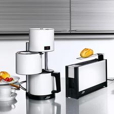 set waterkoker,toaster,koffiezetap, wit