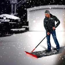 Zelfs een laag versgevallen sneeuw van 17 cm hoog is geen probleem.
