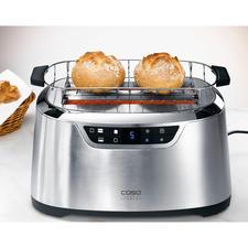 Dankzij het brede opzetmandje ook geschikt voor grote broodjes, krakelingen, croissants, …