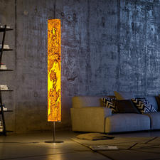 Designlamp van echt hout - Uniek kunstwerk dat het chique hout een bijzondere uitstraling geeft.