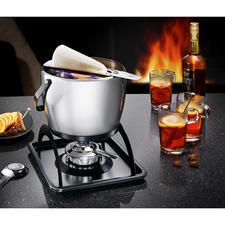 Spring Feuerzangenbowlen-set - Het mooie én goede warme punch set 'Feuerzangenbowlen'. Stijlvol edelstalen design.