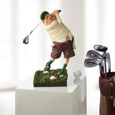Forchino figuur 'Golfer' - De kunst om op een grappige manier de passie voor golf weer te geven.
