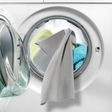 Actief zilver elimineert tot 99,9 % van de bacteriën op uw wasgoed.