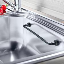 Magnetische vaatdoekhouder - Past in elke wasbak en blijft magnetisch zitten. Zelfs in een hoek.