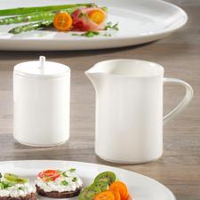roomstel: melkkan & suikerpot