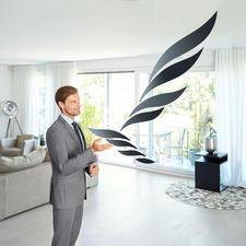 Mobile 'Rhythm' - Een levendig kunstwerk. Deens design dat inspireert. Royale afmetingen. Sierlijk lichte uitstraling.
