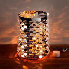 Waxinelicht-carrousel XL - Hiermee creëert u op uw tafel, uw dressoir of de vensterbank een lichtspel met een sprookjesachtige uitstraling.