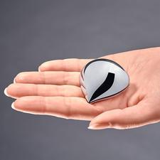 Alessi pillendoosje - Veel te mooi om te verstoppen. Elegant glanzend als een chic sieraad. Met praktische éénhandssluiting.
