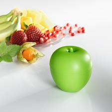 Fruitvliegjesval, set van 3 - Weg met die fruitvliegjes. Gebruik deze effectieve en milieuvriendelijke val in decoratieve appelvorm.