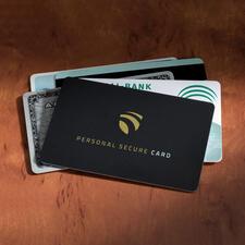 RFID Secure-Card - Zelfs op een afstand van 3 cm kan niemand uw gevoelige gegevens meer herkennen.