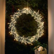 Decoratie led-krans - Sfeervolle verlichting voor uw raam, als deur-, muur- of tafeldecoratie, …