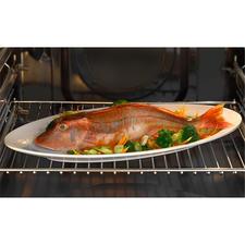 Zonder lastig omdraaien aan alle kanten gelijkmatig gegaard en knapperig bruin– gewoon op het grillrooster in de oven.