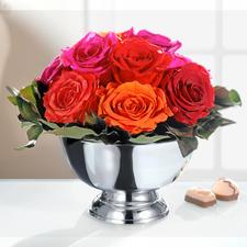 Boeket met echte rozen - Van dit boeket zult u lang plezier hebben.