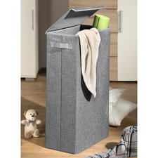 Ruimtebesparende opbergbox - Hiermee bergt u op een stijlvolle manier vieze was, stoelhoezen, speelgoed, sport- of knutselspullen op.
