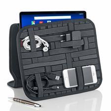 Organizer voor tablet/accessoires - Nooit meer zoeken naar snoeren, pennen en visitekaartjes.