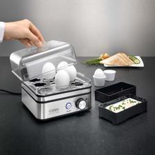 Elektronische eierkoker - Voor het koken van max. 8 eieren, precies zoals u wenst.
