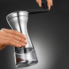 Handkoffiemolen met 18 instellingen - De juiste maalgraad voor cafetière, espressomachine, koffiezetapparaat en Turkse koffie.
