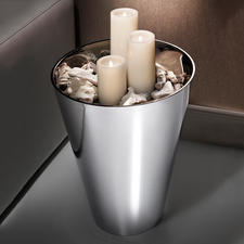Veelzijdig te gebruiken: ook mooi als decoratieve highlight, bijvoorbeeld met ledkaarsen erin (apart te bestellen).