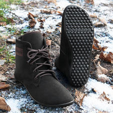 Barefoot leguano® hoge veterschoenen - Loop net zo gezond en ontspannen als op blote voeten. Met de hand gemaakt in Duitsland.