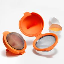 Eipocheerder, set van 2 - Bereid gemakkelijk en supersnel gepocheerde eieren – met een perfecte vorm en de juiste structuur.