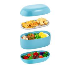 3aparte vakjes houden uw etenswaren netjes gescheiden
