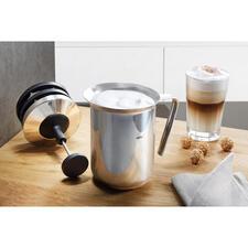 Gefu® melkopschuimer met dubbele zeef - Voor perfect melkschuim in minder dan 60 seconden.