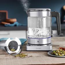 WMF KÜCHENminis® waterkoker Vario - Ruimtebesparende waterkoker met een inhoud van 1 l. Ook handig voor het maken van een heerlijk kopje thee.