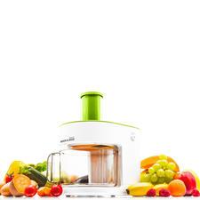 Slice & Dice® multifunctionele keukenmachine - Snijdt met één druk op de knop blokjes, spiralen, reepjes en schijfjes.