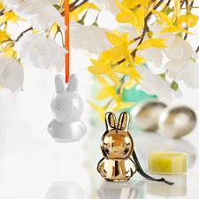 Nijntje hanger van aardewerk, set van 3 - Fans van over de hele wereld houden van dit meisjesfiguurtje - en dat niet alleen met Pasen.
