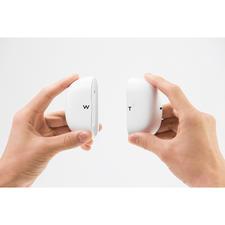 Het meegeleverde opbergdoosje is tegelijkertijd een oplaadstation en een powerbank voor het 2keer opladen van de oordopjes.