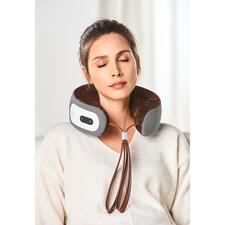 iNeck3 nekmassagekussen - De perfecte nekmassage. Werkt zonder snoer en stopcontact, dus overal te gebruiken. 3 massagemodi.