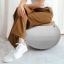 De uitvoering van 40cm hoog is ook heel handig als extra zitgelegenheid (draagvermogen max. 80kg).